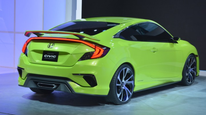 2017 Honda Civic Si rear view