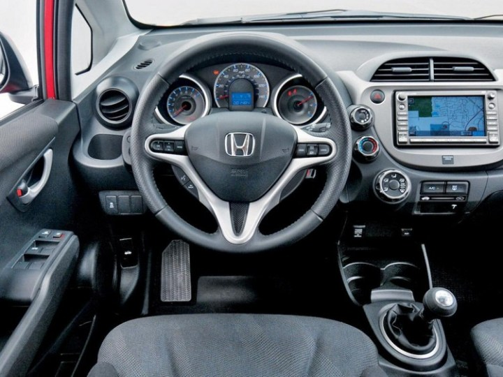 2017 Honda Fit interior