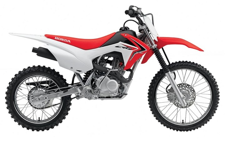 2016 Honda CRF150F side view