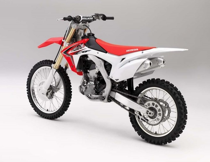 2016 Honda CRF250X rear view