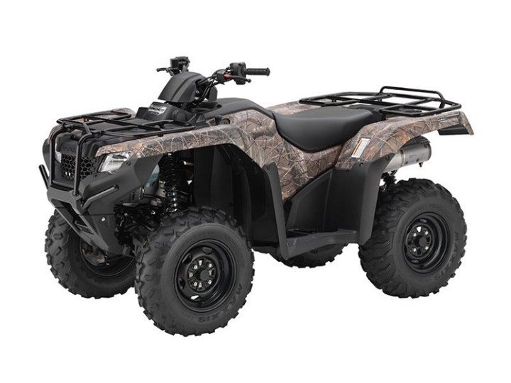 2016 Honda Rancher front view