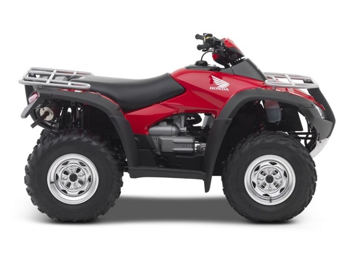 2016 Honda Rincon side view