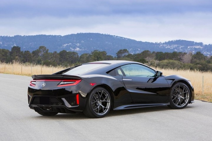 2017 Acura NSX rear view