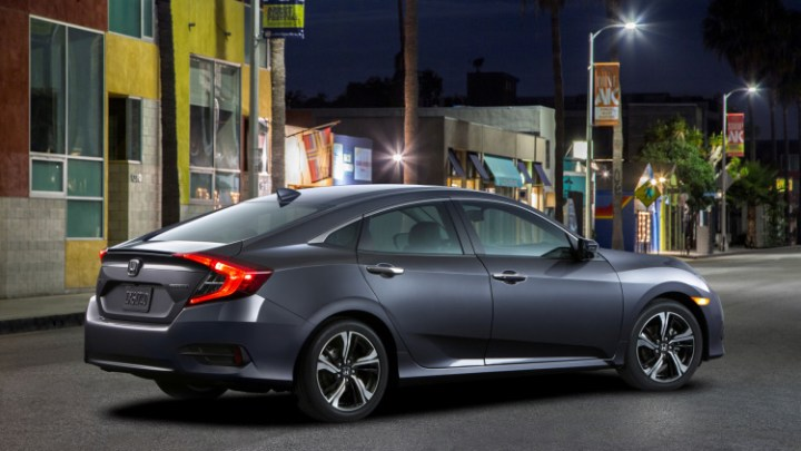 2017 Honda Civic Hybrid rear view