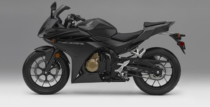 2016 Honda CBR500R side view