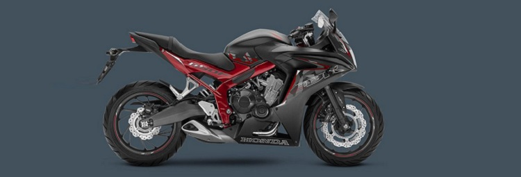 2016 Honda CBR650F side view