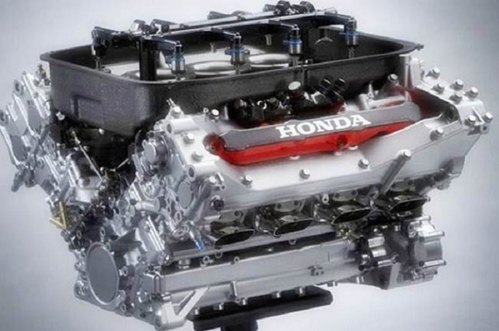 2018 Honda S1000 engine