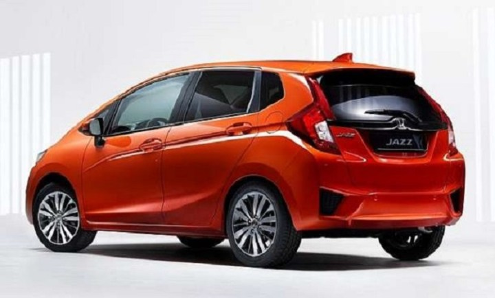 2018 honda  jazz rear view