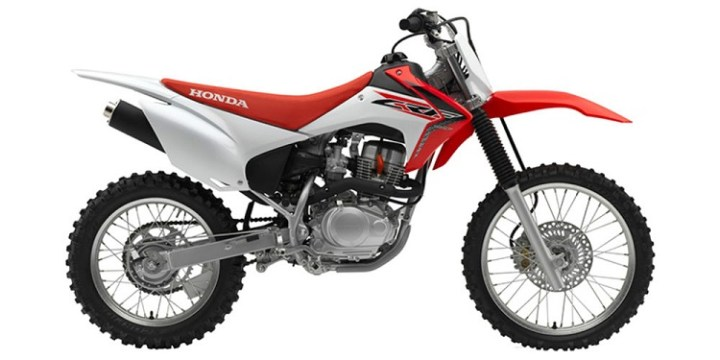 2017 Honda CRF150F side view