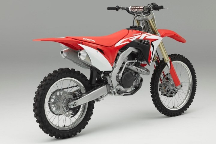 2017 Honda CRF450R rear view