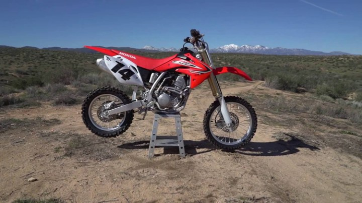 2017 Honda CRF150R side