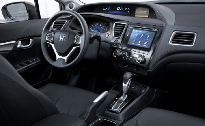 2018 Honda Civic Tourer interior