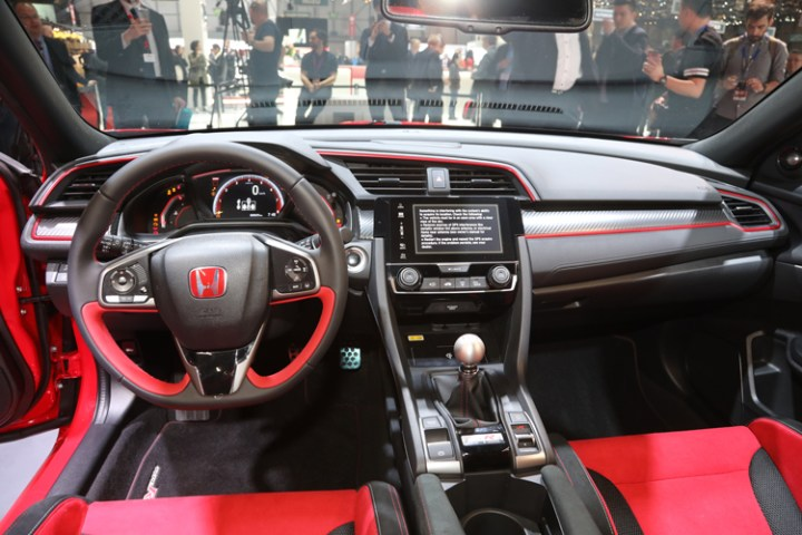 2018 Acura NSX Type R interior