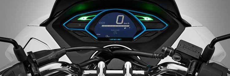 2018 Honda PCX Electric dashboard