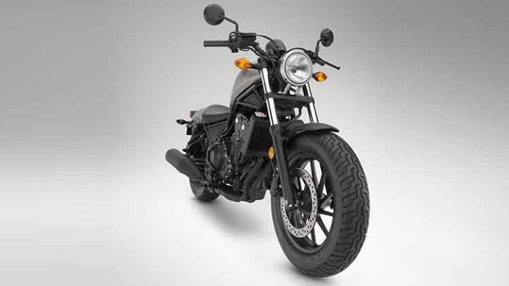 2018 Honda Rebel 500 front