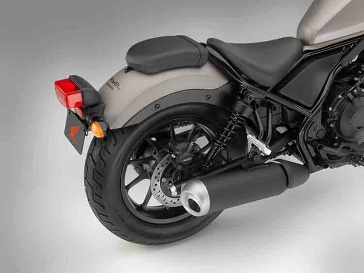 2018 Honda Rebel 500 rear