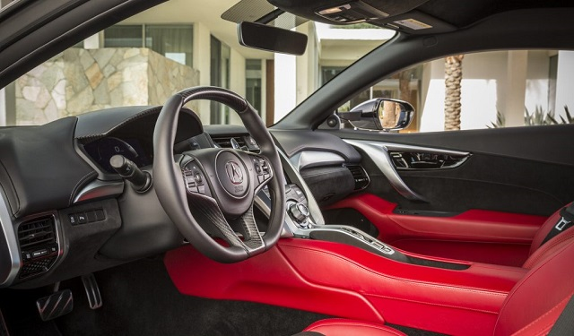 2019 Acura NSX Type S interior