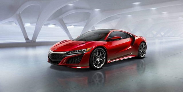 2019 Baby Acura NSX front view