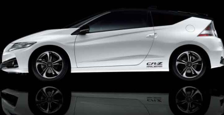 2019 Honda CR-Z side