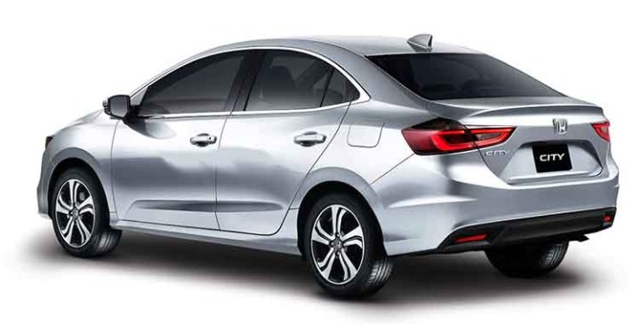 2019 Honda City rear