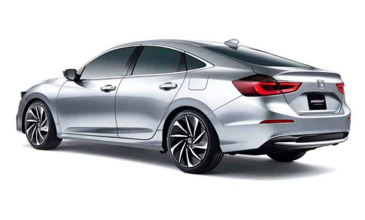 2019 Honda Insight rear