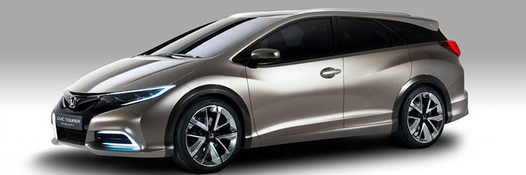2019 Honda Civic Tourer side