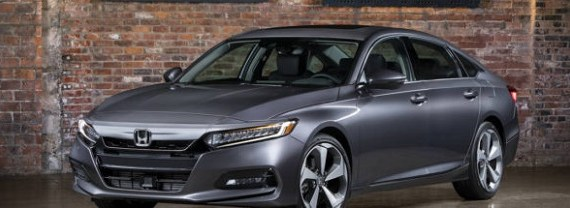 2020 Honda Accord front view