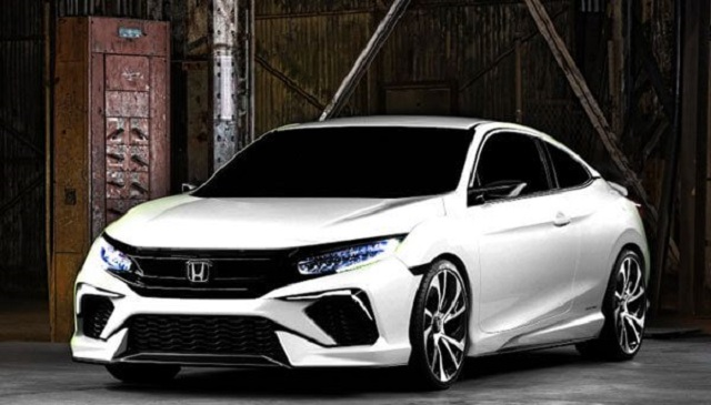 2020 Honda Civic front view