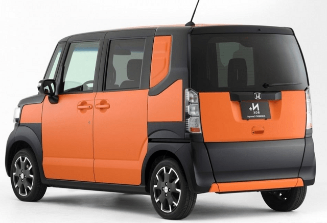 2020 Honda Element rear view