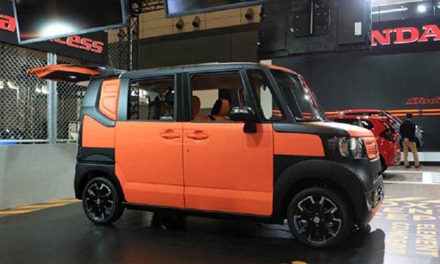 2020 Honda Element side view