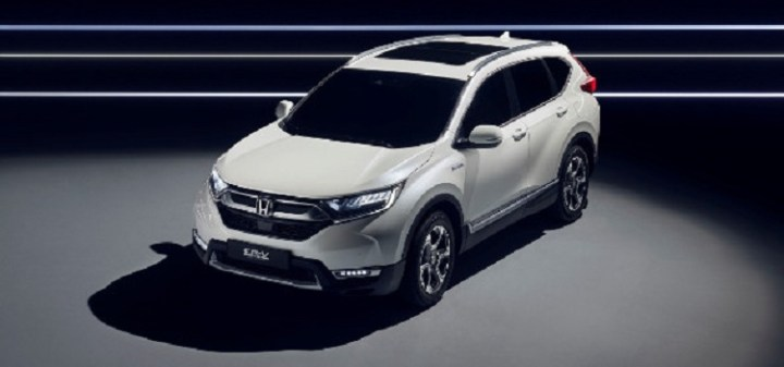 2020 Honda CR-V facelift