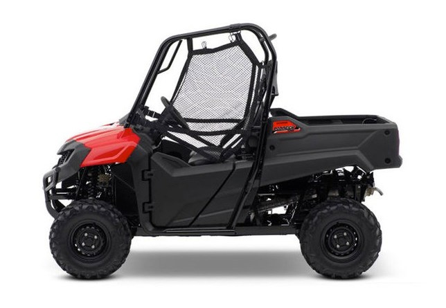 2020 Honda Pioneer 700 side view