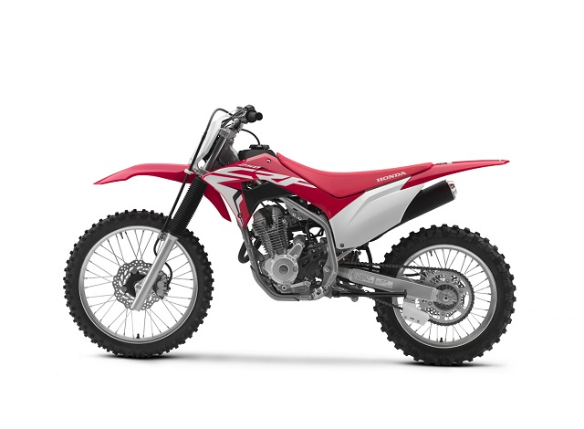 2020 Honda CRF250F Big Wheel side