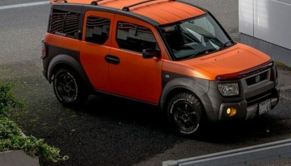 2021 Honda Element Rendering