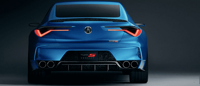 2021 Acura TLX Type S rear