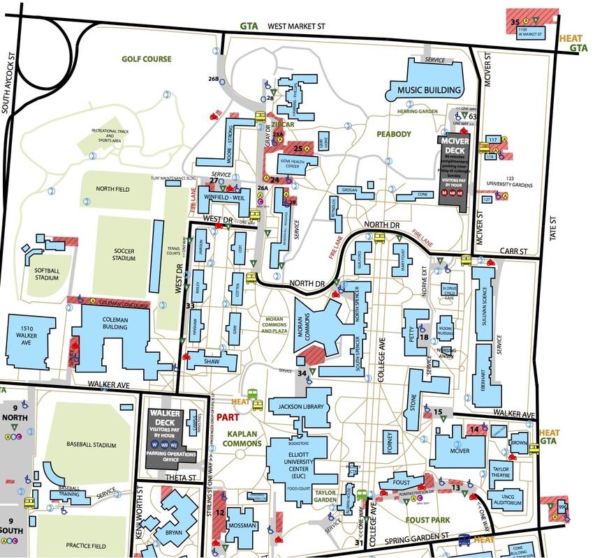 Uncg Housing Map. Uiuc Housing Map, Csun Housing Map, Georgia Tech ...