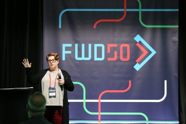 FWD50 2018 speaker
