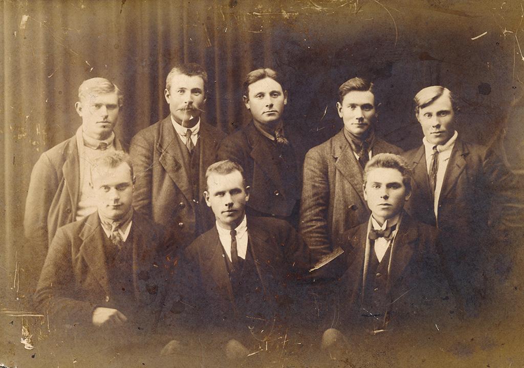 Kartöfluræktarmenn á Garðskaga á fyrri stríðsárunum 1917-1918