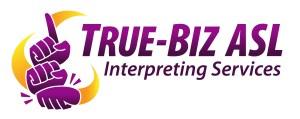 True-Biz ASL logo.