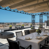 A two-night stay at the Roma Hassler hotel in Rome, Italy, donated by Roberto Wirth