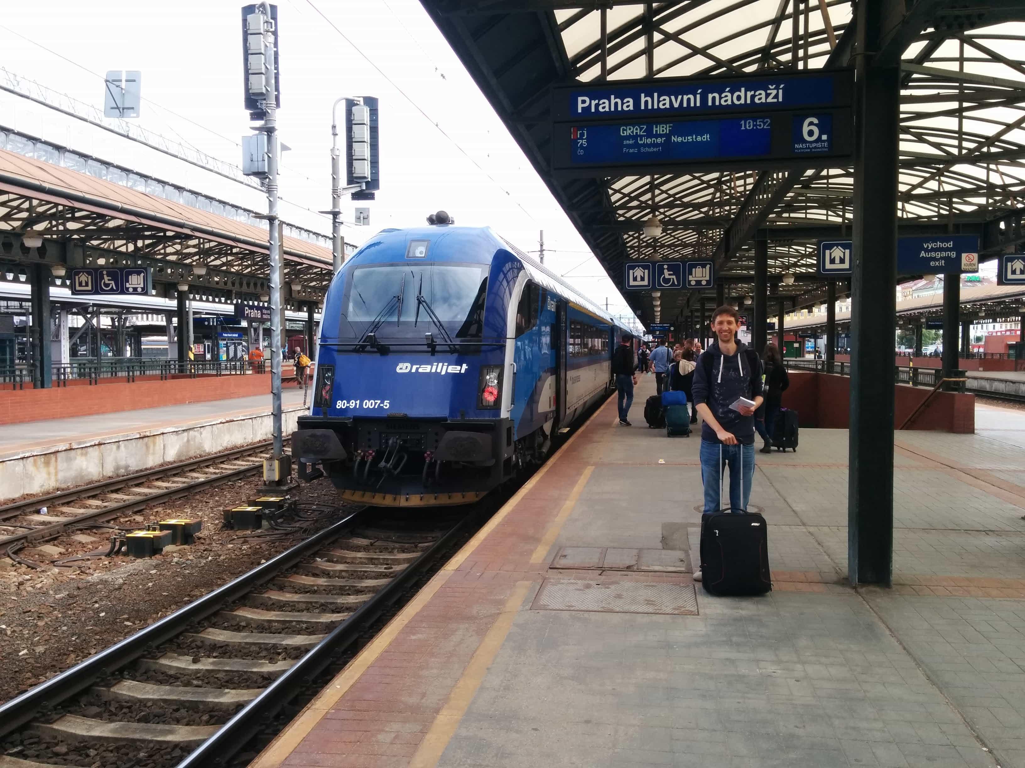 train vs driving
