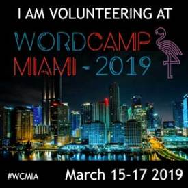 I am Volunteering and Teaching In Kids Camp at WordCamp Miami 2019