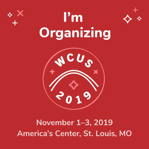 I'm organizing WordCamp US 2019!