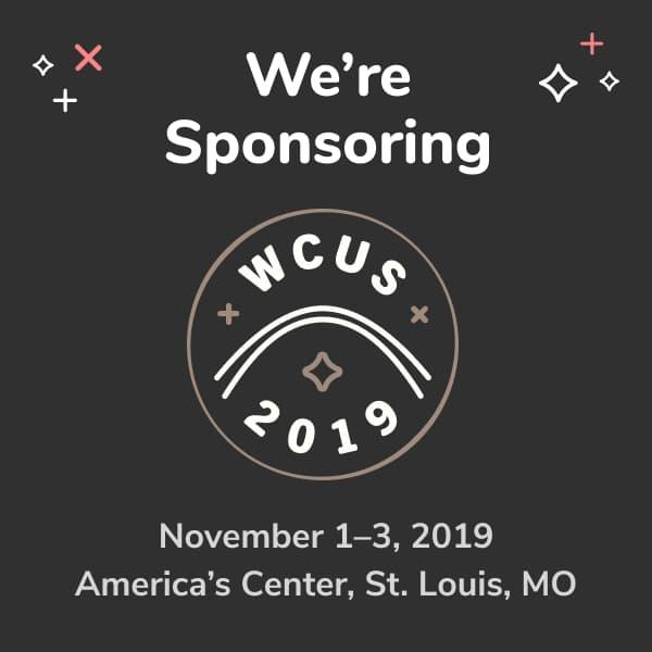 We're sponsoring WordCamp US 2019!