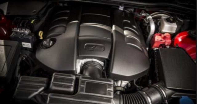 2018 Chevy El Camino engine