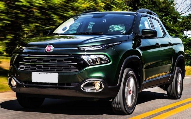 2018 Fiat Toro front