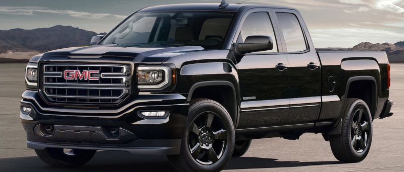 2018 GMC Sierra Elevation front