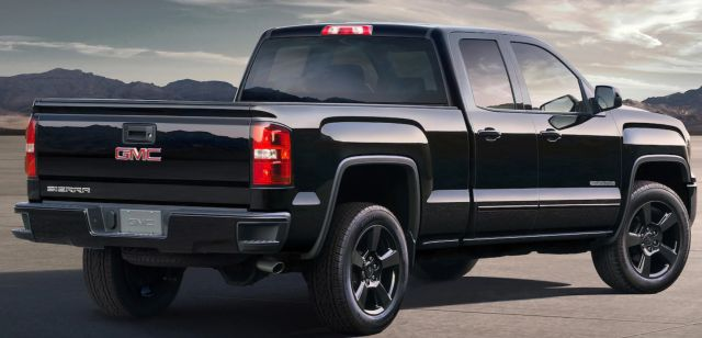 2018 GMC Sierra Elevation rear