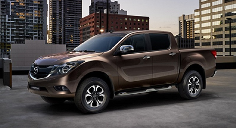2018 mazda bt-50 side view