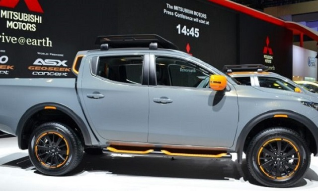 2018 mitsubishi l200 side view